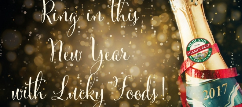 Get ready to ring in the New Year with these Lucky Foods