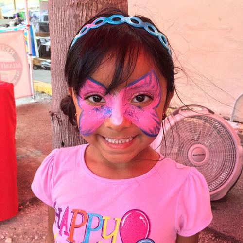 Redland-Market-Village-Kids-Face-Painting